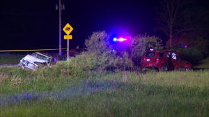 Police are investigating a fatal collision in Hamilton.