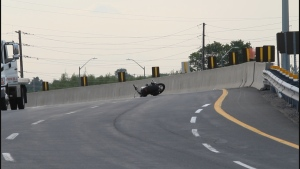 Police are investigating a fatal motorcycle crash in Oshawa on June 4, 2020.