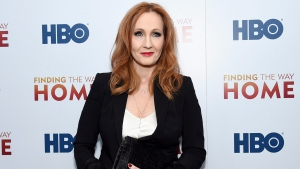 "In this Dec. 11, 2019 file photo, author J.K. Rowling attends the HBO Documentary Films premiere of ""Finding the Way Home"" in New York. Rowling is facing widespread criticism from the transgender community and other activists after tweeting support for a researcher who lost her job for stating that people cannot change their biological sex.  (Photo by Evan Agostini/Invision/AP, File)"