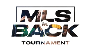 "A MLS logo is shown in this handout image. Major League Soccer will return to action July 8 with a World Cup-style tournament that will run through Aug. 11 in the Orlando area. All 26 teams will take part in the ""MLS is Back Tournament"" at the ESPN Wide World of Sports Complex at Walt Disney World Resort in Florida beginning July 8. THE CANADIAN PRESS/HO-MLS"