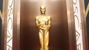 In this March 2, 2014 file photo, an Oscar statue is displayed at the Oscars at the Dolby Theatre in Los Angeles (Photo by Matt Sayles/Invision/AP, File)