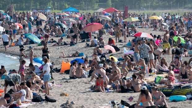 'I feel sorry for them:' Ford says he understands why many downtown residents are crowding Toronto beaches