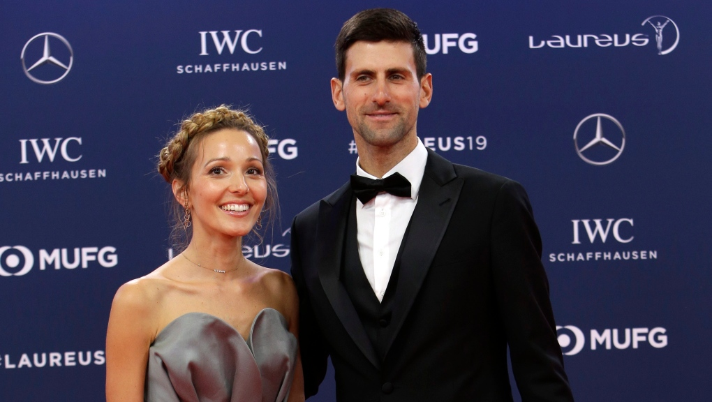 Novak Djokovic Wife Have Virus After His Distance Free Exhibitions Cp24 Com