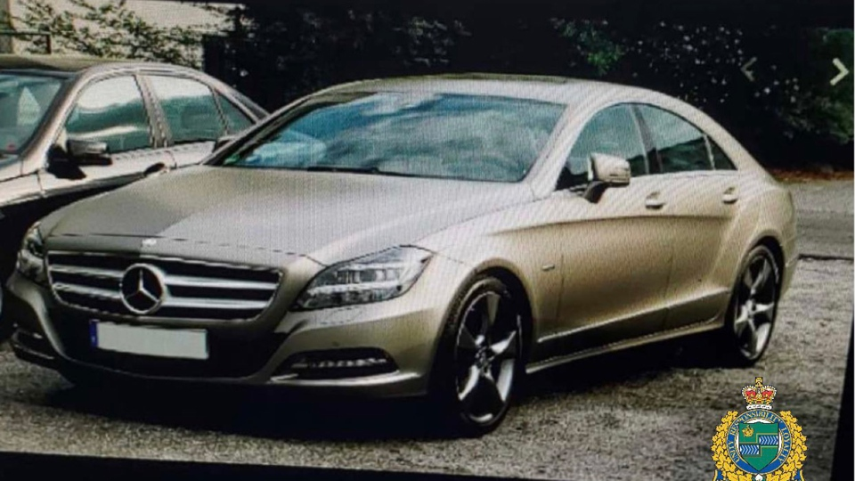 A man sought in an Amber Alert was said to be driving a 2016 Mercedes SLK sedan similar to the one pictured. (NRPS)
