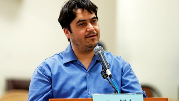Iran sentences journalist Ruhollah Zam to death