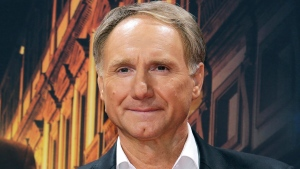 "In this Oct. 10, 2016 file photo, author Dan Brown arrives for the premiere of the movie ""Inferno"" in Berlin. (AP Photo/Markus Schreiber, File)"
