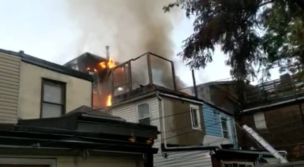 Annex fire