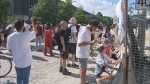 Regent Park rally