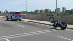 Halton police are investigating a fatal motorcycle crash in Oakville. (David Ritchie)