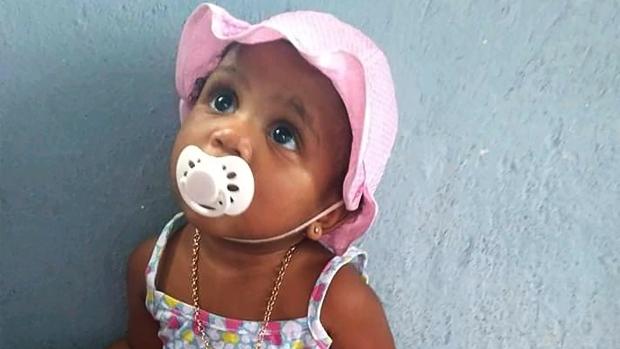 Brazil toddler COVID-19