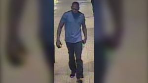 Police are looking for this man who they believed assaulted a 69-year-old man at Sheppard West station last month. (Handout)