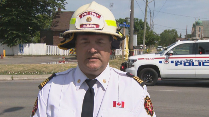 Oshawa fire chief