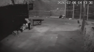 Toronto police release security video from an arson investigation in West Queen West.
