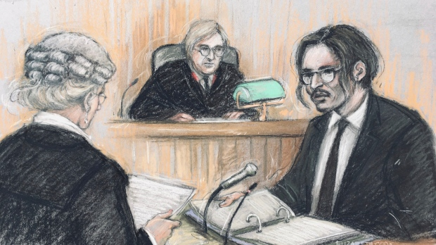 Johnny Depp attacked wife on plane in drunken rage, United Kingdom court hears