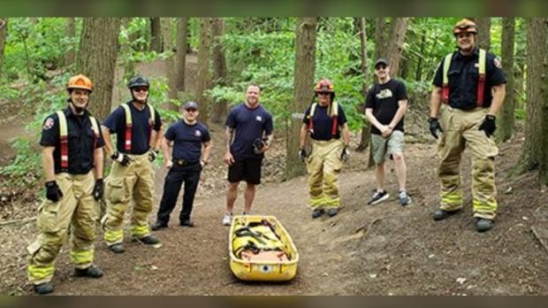 Oshawa Fire Services Rescue Team