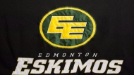 "Edmonton Eskimos logo is pictured on November 3, 2012. At least one of the Edmonton Eskimos' sponsors plans to cut ties with the Canadian Football League team unless it changes its name, while other corporate partners say they are watching closely for results from the team's ""ongoing engagement"" with Inuit communities. THE CANADIAN PRESS/John Ulan"