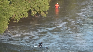 Humber River rescue