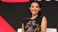 "In this Jan. 13, 2018, file photo, Naya Rivera participates in the ""Step Up: High Water"" panel during the YouTube Television Critics Association Winter Press Tour in Pasadena, Calif. Authorities say former ""Glee"" star Rivera is missing and being searched for at a Southern California lake. The Ventura County Sheriff's Department late Wednesday, July 8, 2020, confirmed that Rivera is the person being searched for in the waters of Lake Piru, which is approximately 56 miles (90 kilometers) northwest of downtown Los Angeles. (Photo by Willy Sanjuan/Invision/AP, File)"