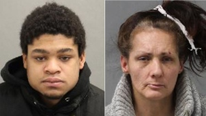 Police are searching for a man and a woman wanted in connection with last week's shooting near Spadina and Dundas. (handout)