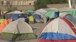 tents,