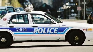 This undated file photo shows an Ottawa police car.