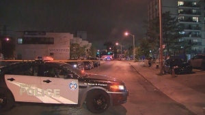 Toronto police are investigating after five people were seriously injured in a shooting near Jane and St. Clair.