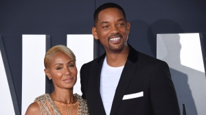 "FILE - In this Oct. 6, 2019 file photo, Jada Pinkett Smith, left, and her husband Will Smith attend the premiere of ""Gemini Man"" in Los Angeles. Pinkett Smith has admitted to having a relationship with musician August Alsina when she and her husband were separated. In a conversation on her series ""Red Table Talk,"" she said she was reluctantly discussing Alsina's comments because of the public speculation they provoked. Will Smith appeared on the show to discuss the chapter in their lives. (Photo by Phil McCarten/Invision/AP, File)"