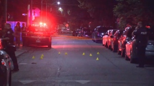 Police are investigating a shooting in the city's Junction Triangle neighbourhood triangle.