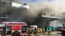 San Diego navy fire