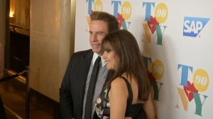Kelly Preston and John Travolta.