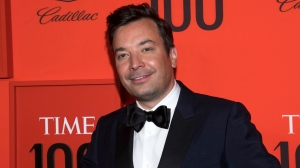 In this April 23, 2019 file photo, Jimmy Fallon attends the Time 100 Gala in New York. (Photo by Charles Sykes/Invision/AP, File)