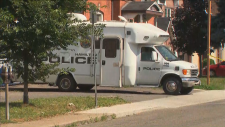 Hamilton Police vehicle