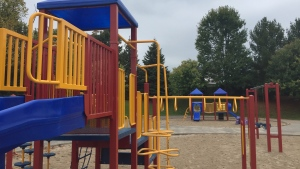 Barrie playgrounds will start to reopen on Fri., July 17, 2020. (CTV News Barrie)