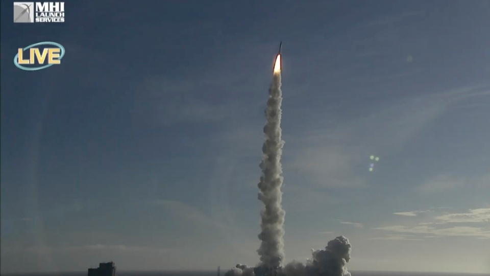 UAE Mars mission launches from Japan
