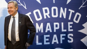 Michael Friisdahl, president and CEO of Maple Leaf Sports and Entertainment, poses in Toronto's Maple Leaf Square on October 13, 2016. Toronto FC is back in action. THE CANADIAN PRESS/Chris Young