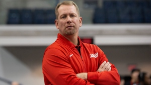 Canada's head coach Nick Nurse is pictured before FIBA Basketball World Cup 2019 exhibition game action against Nigeria, in Toronto on Wednesday August 7, 2019. THE CANADIAN PRESS/Chris Young