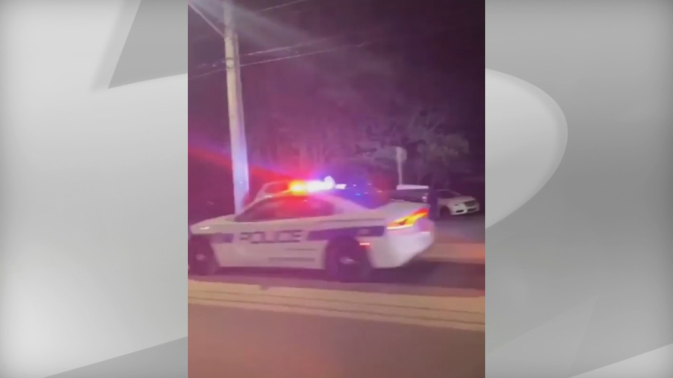Peel police said it took about an hour, until roughly midnight, to disperse the party and send everyone home.