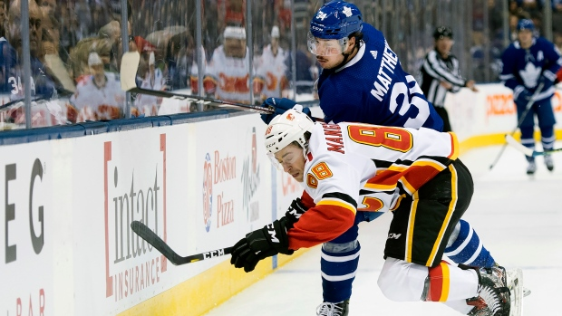 Leafs vs. Flames