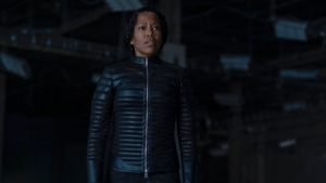"This image released by HBO shows Regina King in a scene from ""Watchmen."" The series was nominated for an Emmy Award for outstanding limited series on Tuesday, July 28, 2020. King was also nominated for outstanding lead actress in a limited series or movie. (Mark Hill/HBO via AP)"