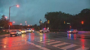 York Regional police are investigating a shooting in Vaughan.