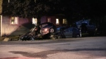 Durham police are investigating a crash that injured four people. (Colin Williamson)