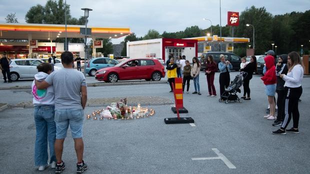 Stockholm county shooting