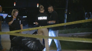Police are investigating a shooting in Richmond Hill.