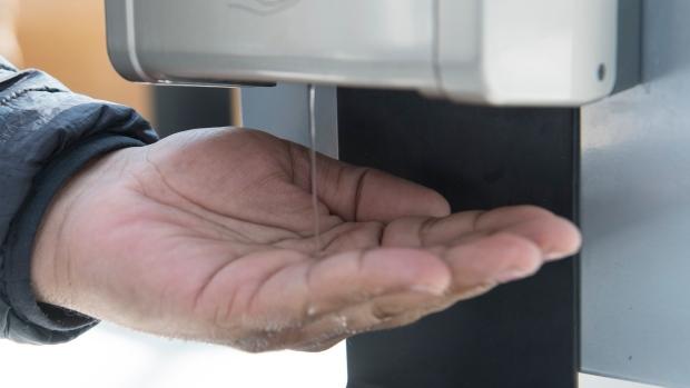 hand, sanitizer,