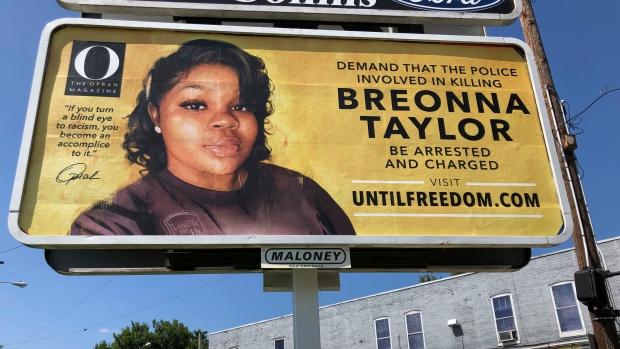 Breonna billboard