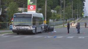 Brantford police are investigating a fatal collison. (CTV Kitchener)