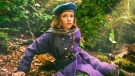"This image released by STXfilms shows Dixie Egerickx in a scene from ""The Secret Garden."" (STXfilms via AP)"