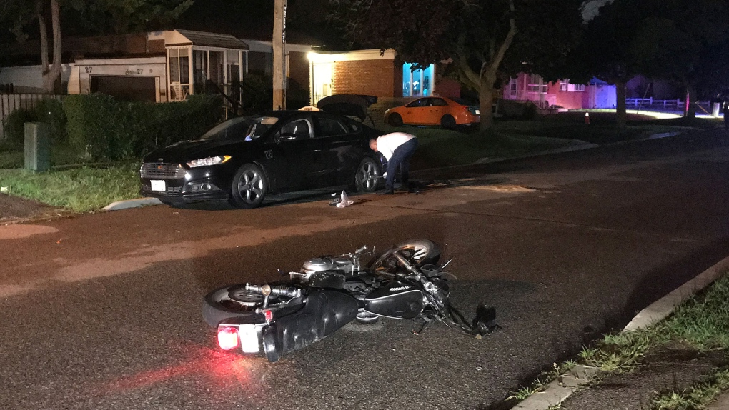 Motorcyclist Taken To Hospital After Collision In Wexford Cp24 Com