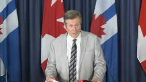 Mayor John Tory has unveiled details about a city report outlining more than 80 recommendations to address systemic racism in the Toronto Police Service.
