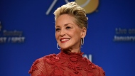Sharon Stone poses during the nominations for the 75th Annual Golden Globe Awards on Dec. 11, 2017, in Beverly Hills, Calif. (Photo by Chris Pizzello/Invision/AP, File)
